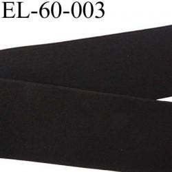 élastique a plat largeur 60 mm couleur noir plus rigide que la ref EL-60-002 très belle qualité prix au mètre