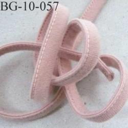 Cache Armature et baleine underwire casing galon couleur vieux rose ou chair rosé largeur 10 mm épaisseur 4 mm  prix au mètre