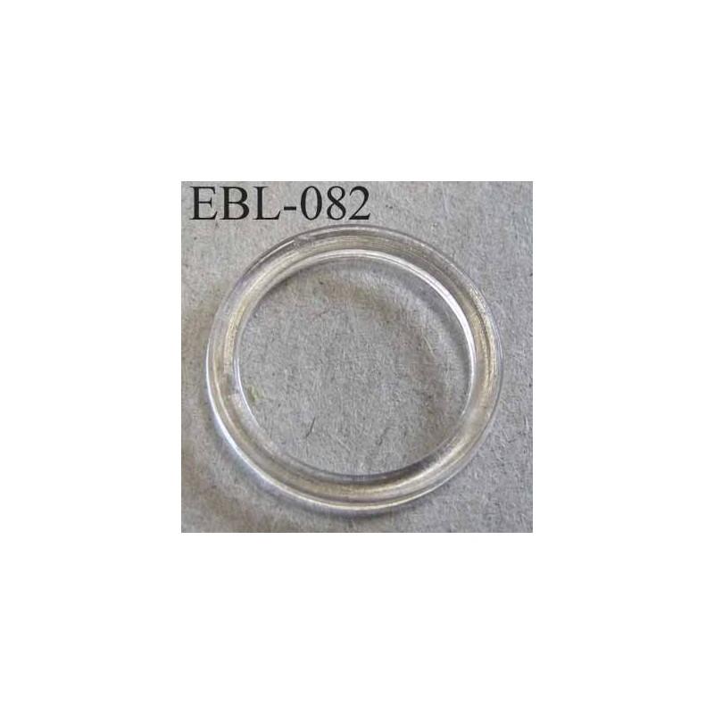 Anneau plastique transparent pour soutien gorge diam tre for Diametre exterieur