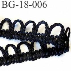 galon ruban boutonnière synthétique largeur 18 mm couleur noir très solide prix au mètre
