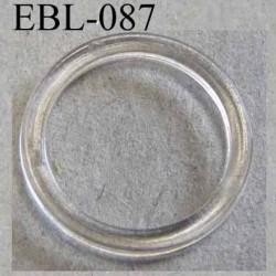 anneau plastique transparent pour soutien gorge diamètre extérieur 11.5 mm diamètre intérieur 8 mm prix à l'unité