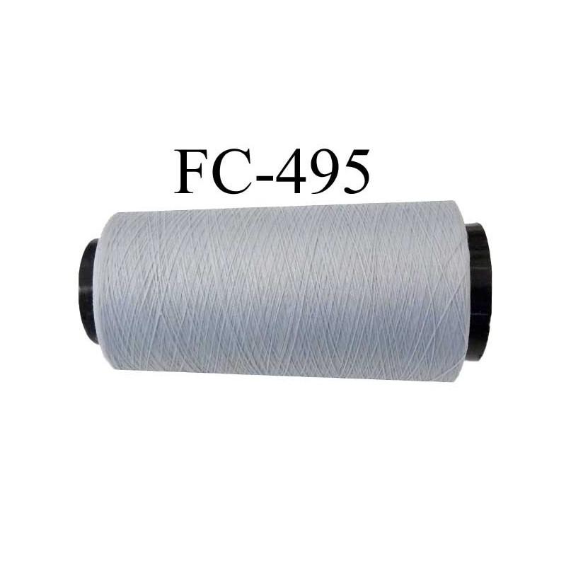 cone de fil mousse polyamide fil n 110 2 couleur gris souris longueur 2000 m tres bobin en. Black Bedroom Furniture Sets. Home Design Ideas