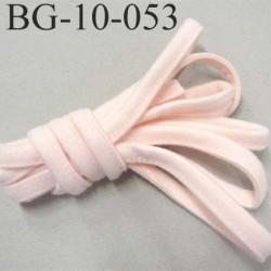 Cache Armature et baleine underwire casing galon couleur rose pétale largeur 10 mm épaisseur 4 mm haut de gamme prix au mètre
