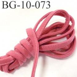 Cache Armature et baleine underwire casing galon couleur rose confetti largeur 10 mm épaisseur 4 mm haut de gamme prix au mètre