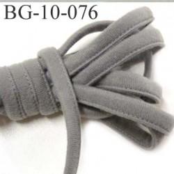 Cache Armature et baleine underwire casing galon couleur gris  largeur 10 mm épaisseur 4 mm haut de gamme prix au mètre