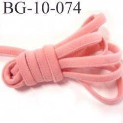 Cache Armature et baleine underwire casing galon couleur rose camélia largeur 10 mm épaisseur 4 mm haut de gamme prix au mètre