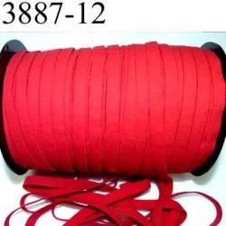 Elastique plat largeur 12 mm couleur rouge sevillane prix au mètre