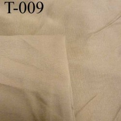 Tissu coton et synthétique style velour très doux couleur caramel blond laize de 155 cm prix au mètre