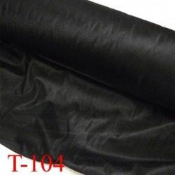 Tissus entoilage thermocollant épaisseur léger largeur 90 centimètres couleur noir prix au mètre