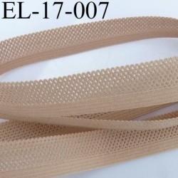 élastique dentelle picot plat largeur 17 mm couleur chair élastique lingerie très joli prix au mètre