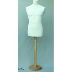 Buste de couture sur pied homme (modèle d'exposition)