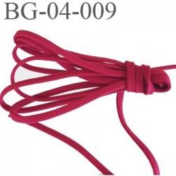 gallon ganse ruban cordon  a plat lacette 100% coton largeur 4 mm couleur rouge très solide très belle qualité  prix au mètre