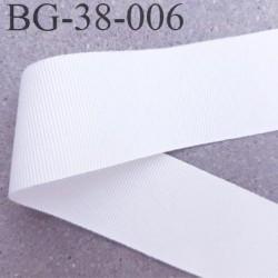 galon ruban gros grain couleur naturel très très solide et souple polyester largeur 38 mm prix au mètre