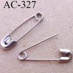 mini épingle à nourrice le lot de 20 pièces longueur 19 mm largeur 4 mm en métal