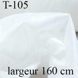 entoilage thermocollant jersey  largeur 160 centimètres couleur blanc doux souple très belle qualité