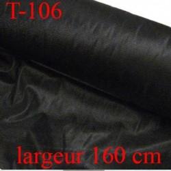Tissus entoilage thermocollant jersey  largeur 160 centimètres couleur noir doux souple très belle qualité