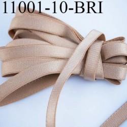 Elastique plat largeur 10 mm couleur peau chair brillant superbe  très belle qualité haut de gamme prix au mètre