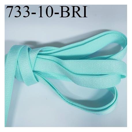 elastique plat largeur 10 mm couleur bleu vert lagon brillant superbe tr s belle qualit haut de. Black Bedroom Furniture Sets. Home Design Ideas