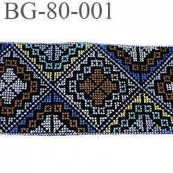 GALON RUBAN 80 mm couleur gris violine bleu caramel  jaune vert noir largeur 80 mm créatrice parisienne prix au mètre