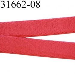 élastique plat largeur 8 mm couleur rose vif sweat prix pour 1 mètre de longueur