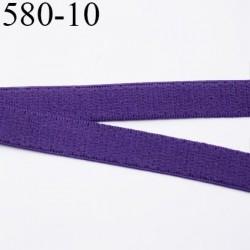élastique 10 mm bretelle et lingerie largeur 10 mm couleur violet  haut de gamme très doux prix au mètre