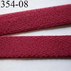 élastique 8 mm bretelle et lingerie largeur 8 mm couleur rubis  haut de gamme très doux prix au mètre