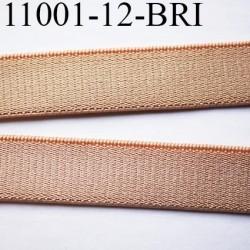 Elastique bretelle lingerie largeur 12 mm couleur peau brillant superbe  très belle qualité haut de gamme prix au mètre
