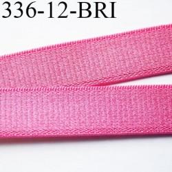 Elastique bretelle 12 mm lingerie couleur fraise brillant superbe  très belle qualité haut de gamme largeur 12 mm  prix au mètre