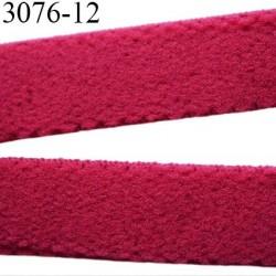 élastique bretelle ou  lingerie plat largeur 12 mm haut de gamme couleur grenat rouge diorine prix au mètre
