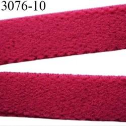 élastique plat largeur 10 mm couleur rouge diorine vendu au mètre