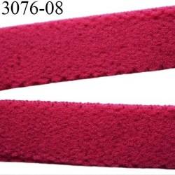 élastique plat largeur 08 mm couleur rouge diorine vendu au mètre