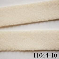 élastique plat largeur 10 mm couleur beige perle vendu au mètre