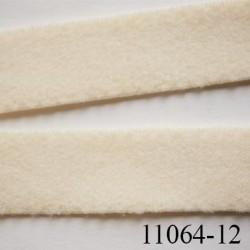 élastique bretelle ou  lingerie plat largeur 12 mm haut de gamme couleur perle prix au mètre