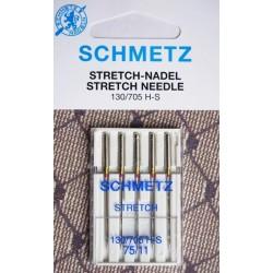 Aiguille Schmetz STRETCH 75/11 H-S  la boite de 5 aiguilles