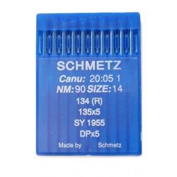 Aiguille industriel schmetz  nm 90  134 R la boite de 10 aiguilles