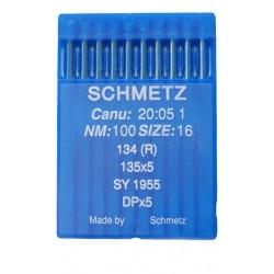Aiguille industriel schmetz nm 100 134 R la boite de 10 aiguilles