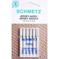 Aiguille schmetz Jersey Nadel Jersey Needle 130 705 H SUK la boite de 5 aiguilles