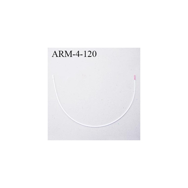 armature 120 acier laqu blanc longueur total d velopp de l 39 armature 306 mm forme n 4 prix. Black Bedroom Furniture Sets. Home Design Ideas