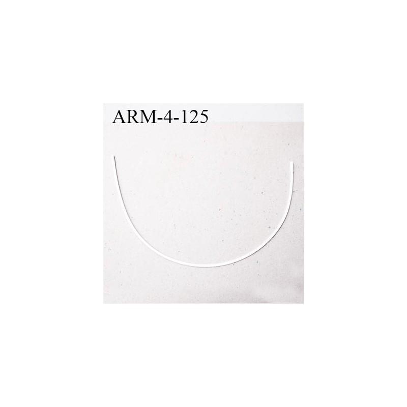 armature 125 acier laqu blanc longueur total d velopp de l 39 armature 320 mm forme n 4 prix. Black Bedroom Furniture Sets. Home Design Ideas