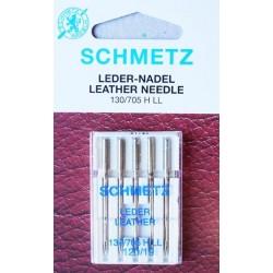Aiguille schmetz LEDER LEATHER CUIR 130 705 H-LL 120 19 la boite de 5 aiguilles