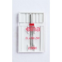 Aiguille schmetz 2.0/90 elna ELX705 ZWI 2.0 NM 90