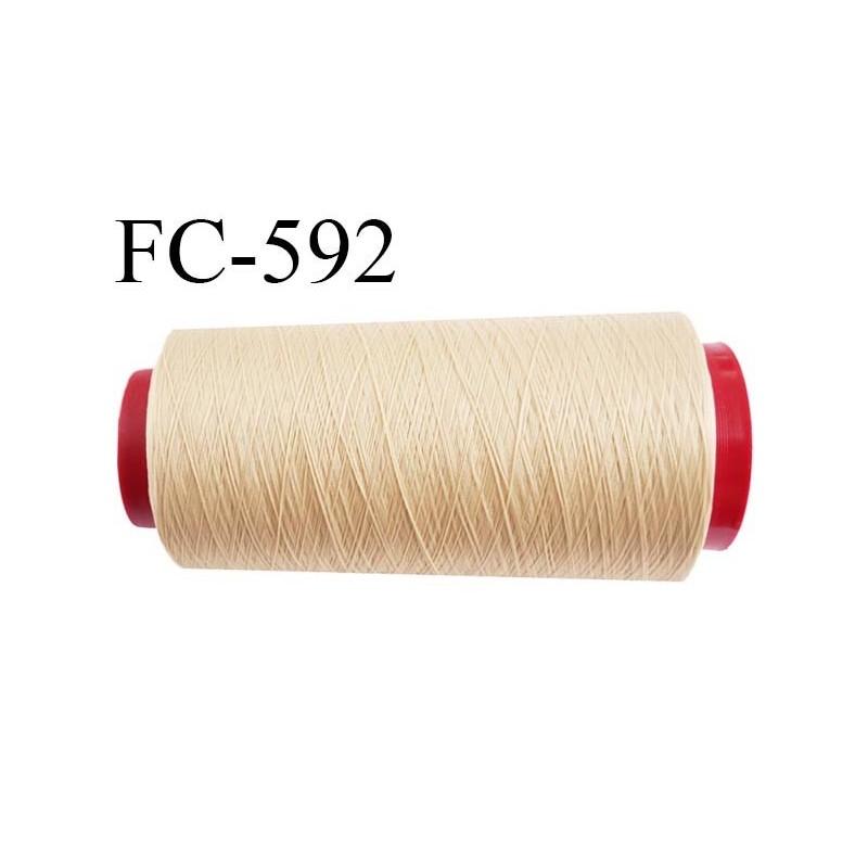 Cone 2000 m tres de fil mousse polyamide fil n 100 2 - Coquille d oeuf couleur ...