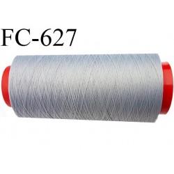Cone de fil mousse 1000 mètres polyamide fil n° 100/2 couleur sable écru longueur 1000 mètres bobiné en  France