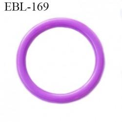 anneau de réglage 14 mm en pvc couleur violet  diamètre intérieur 14 mm  diamètre extérieur 17 mm épaisseur 2 mm
