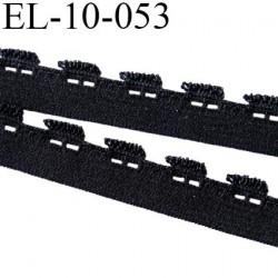 Elastique 10 mm picot  lingerie  couleur noir largeur 10 mm  prix au mètre