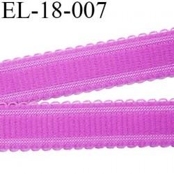 Elastique 18 mm bretelle et lingerie et autre très  belle qualité  30 % d'élasticité couleur bleu largeur 18 mm prix au mètre