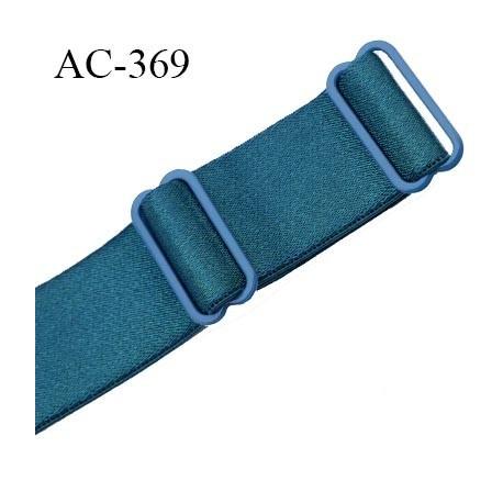 bretelle 25 mm lingerie sg couleur bleu vert brillant. Black Bedroom Furniture Sets. Home Design Ideas