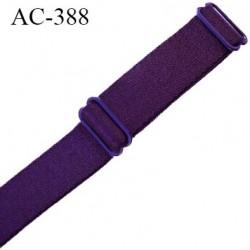 bretelle 16 mm lingerie SG couleur nuit ambre ou violet foncé largueur 16 mm longueur 25 cm  très haut de gamme  prix à la pièce