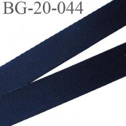 Sangle polyamide 20 mm couleur noir très très solide  largeur 20  épaisseur 1 mm prix au mètre