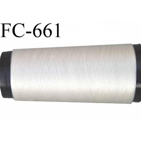 CONE 2000 m de fil invisible polyamide 180 deniers mono filament couleur invisible  longueur de 1000 mètres  bobiné en France